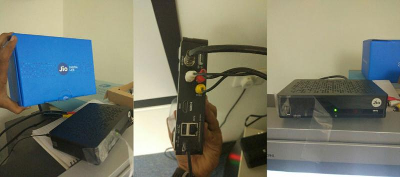 JIO Set Top Box DTH Service First Image Leaks Details