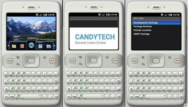 android Milestone Candytech